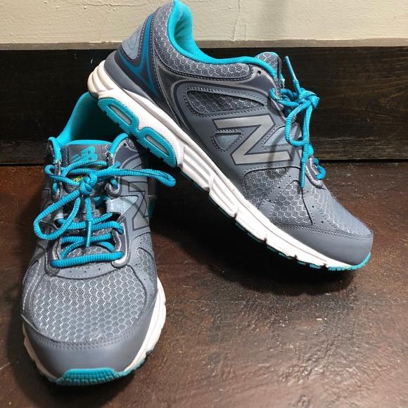 W560lg6 Grayteal Running Shoe Sz